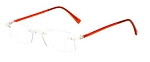 57k001 53[]18 Women's Fashion Multifocal Computer Readers +3.00 Red
