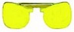 Yellow Slip-In Drop-In Sunglasses for Low Light Conditions