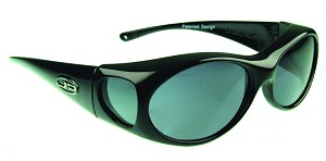 "Jonathan Paul Aurora  Fitovers Sunglasses 5 1/4"" x 1 1/2"""