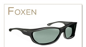 "Haven Foxen Panorama Fits Over Sunglasses 5"" x 1 1/2"""