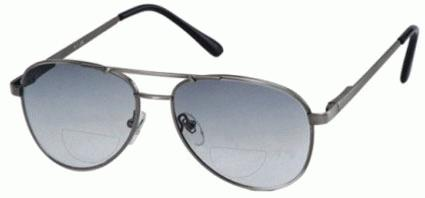 Tinted Bifocal Aviator Glasses