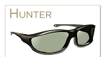 Haven Hunter Panorama Fits Over Sunglasses 5 1/4