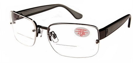Semi-Rimless Bifocal reading Glasses