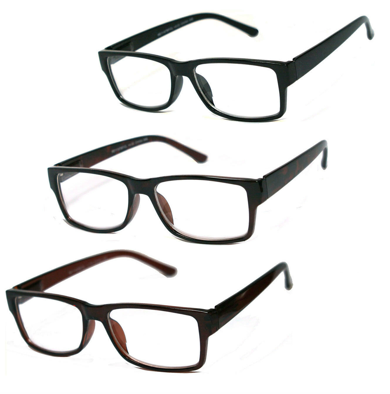 Rectangle Frame Multifocal Computer Readers