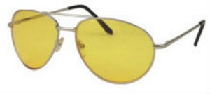 Yellow Aviator Glasses