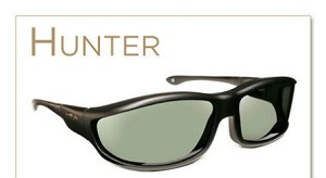 "Haven Hunter Panorama Fits Over Sunglasses 5 1/4"" x 1 3/8"""