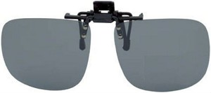 Flip-Up Clip-On Sunglasses