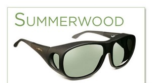 "Haven Summerwood Fits over Sunglasses 5 3/8"" x 1 7/8"""